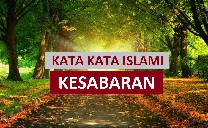 kata kata islami tentang sabar