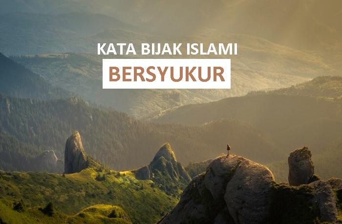 kata bijak islami tentang bersyukur