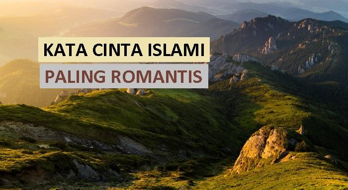 kata cinta islami paling romantis