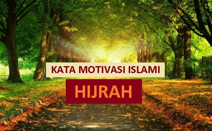 kata kata motivasi islami tentang hijrah