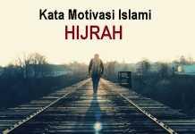 kata motivasi islami tentang hijrah