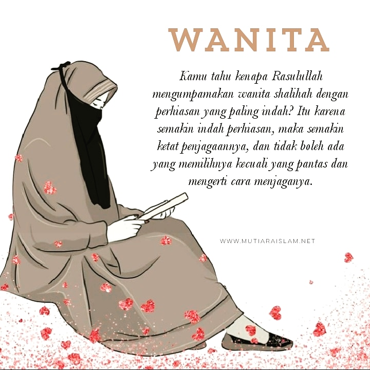 Gambar Kata Kata Bijak Islami Untuk Wanita Cikimmcom