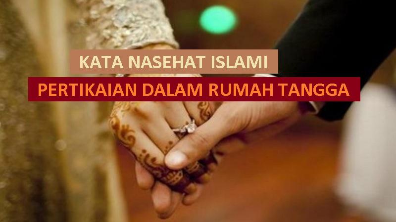 inspirasi islami untuk pengantin baru - kata nasehat islami tentang mengatasi pertikaian dalam rumah tangga