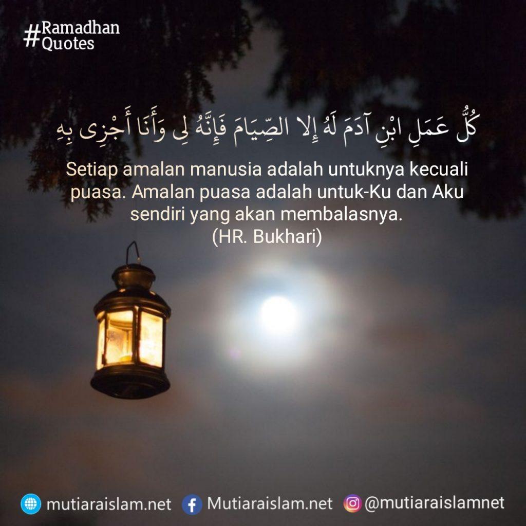100 Kata Mutiara Islam Terbaik Seputar Puasa Dan Ramadhan